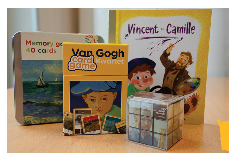 Van Gogh spellen kerstpakket kerst geschenken