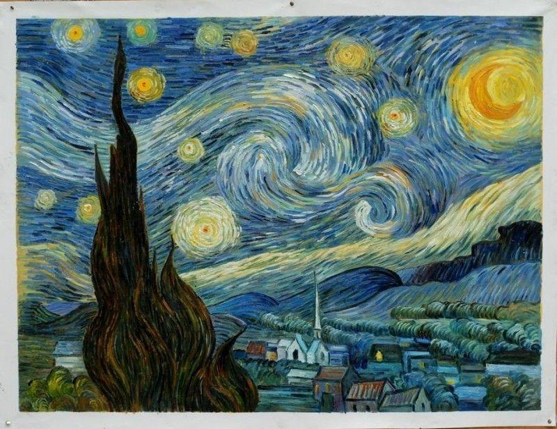 Sterrennacht Vincent van Gogh Helvoirt